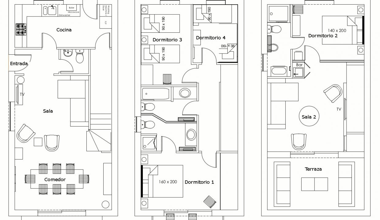 Casa Garcia Floorplans-Floor Plans Web Esp